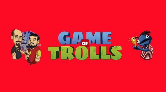 Logotipo de Game of trolls