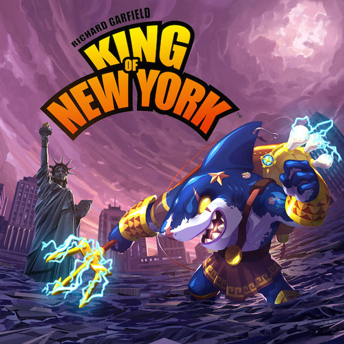 Portada de King of new york power up