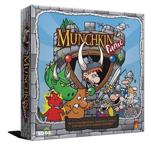 Portada de Munchkin Panic de edge entertainment