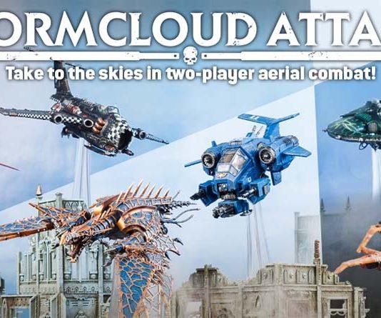 Imagen Promocional de Stormcloud Attack