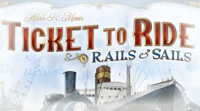 Logotipo de Ticket to Ride Rails and Sails