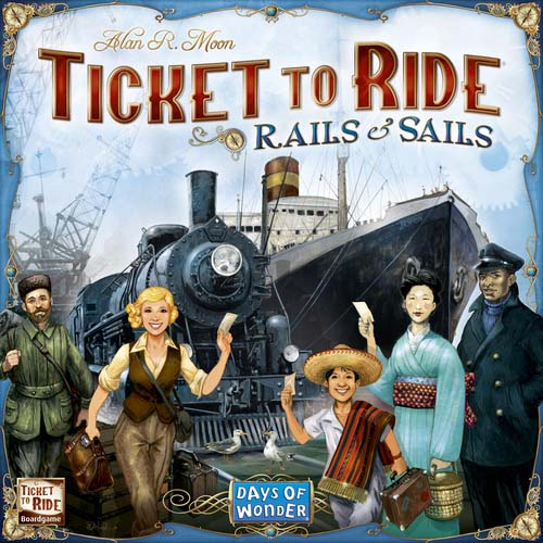 Portada de Ticket to Ride Rails and Sails