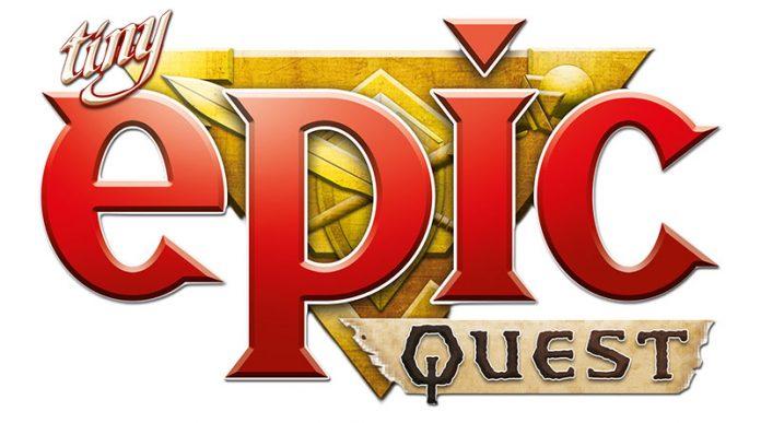 Logotipo de Tiny Epic Quest
