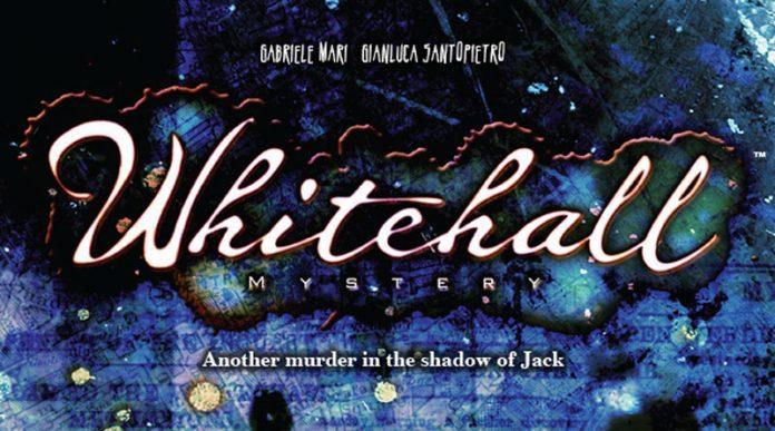 logotipo de Whitehall Mystery