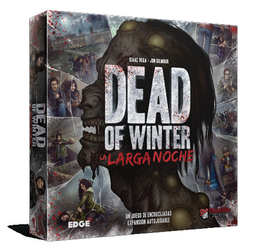 Portada de Dead of winter la larga noche de edge Entertainment