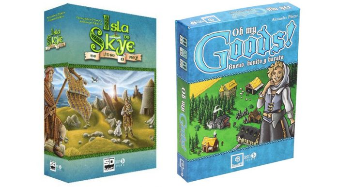 Posrtadas de isla de skye y Oh My goods! de SD Games