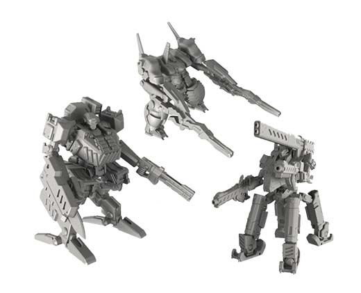 Miniaturas de Armored core