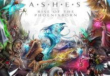 Detalle del arte gráfico de Ashes Rise of the Phoenixborn