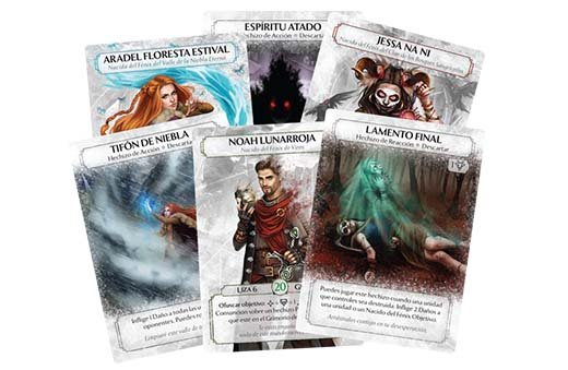 cartas de Ashes Rise of the Phoenixborn