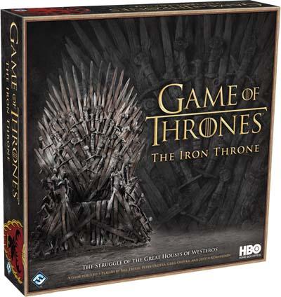 Portada de juego de tronos: el trono de hierro