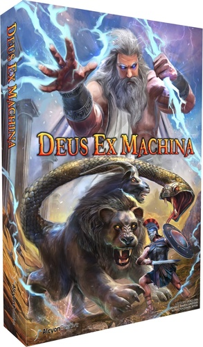 Portada de Deux ex machina de kickass games