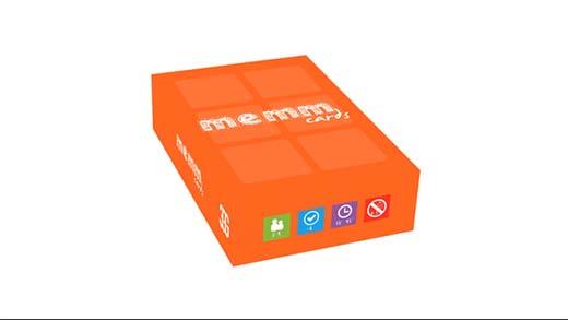 Caja de memm Cards