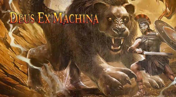 Arte de la portada de Deus Ex Machina