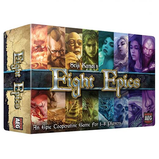 Portada de Eight Epics