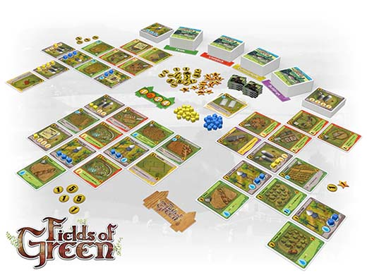 Componentes de fields of green
