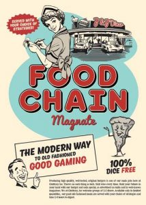 Portada de Food Chain Magnate