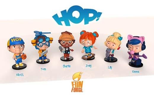 miniaturas de Hop!