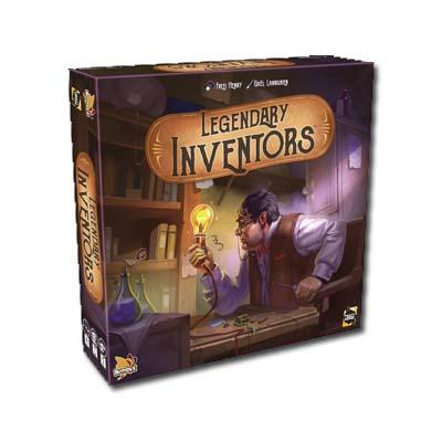 Legendary inventors portada