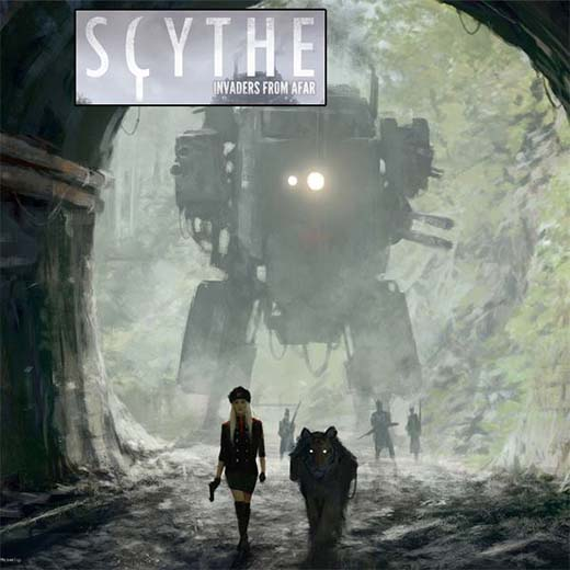 Arte de Scythe invaders from afar