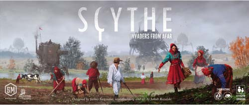 Portada de Scythe invaders from afar