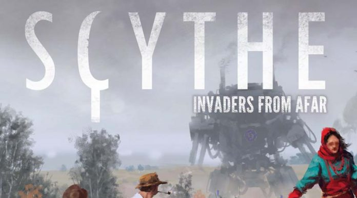 Logotipo de Scythe invaders from afar