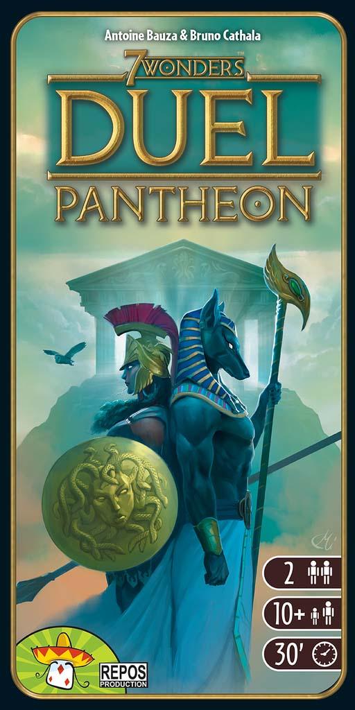 Portada de Seven Wonders Pantheon