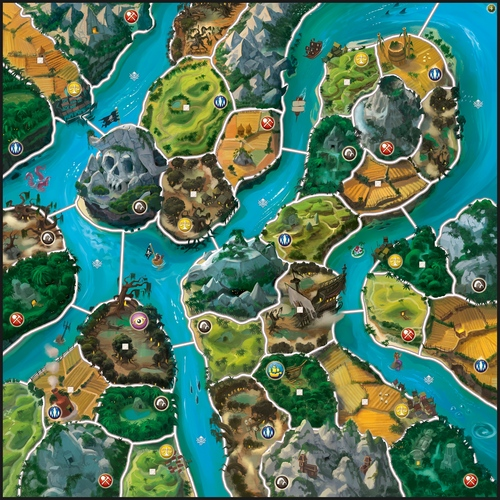 Mapa de Small World River World