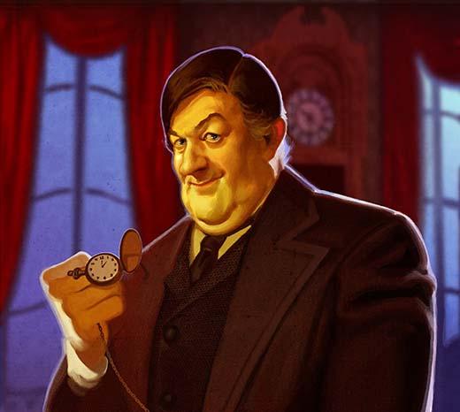 Ilustración de Mycroft de London After Midnight 2
