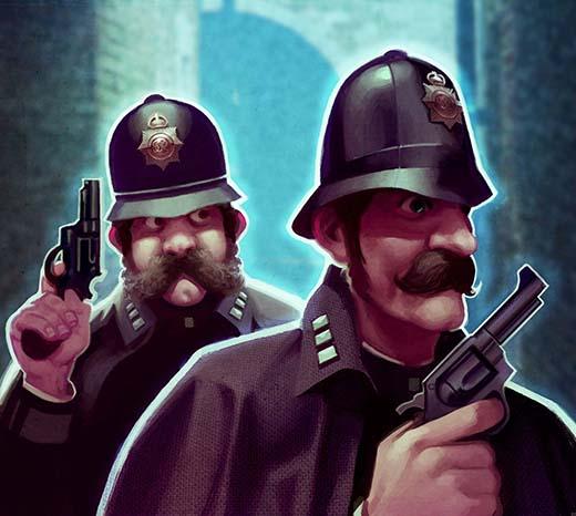 Ilustración de Scotland Yard de London After Midnight 2
