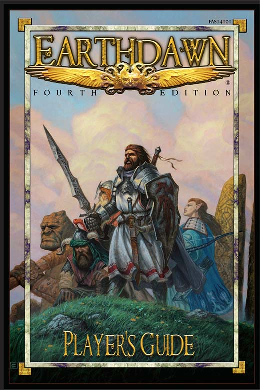 Portada de Earthdawn