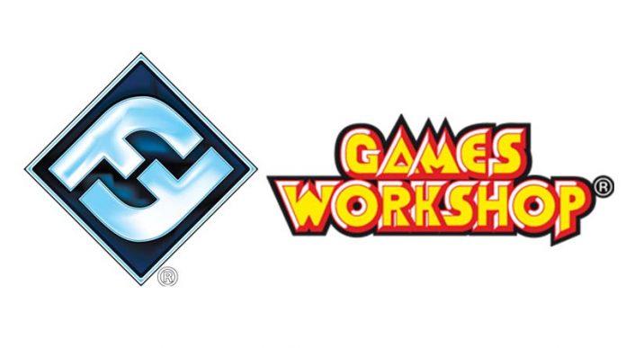 Logotipos de Games Workshop y FFG