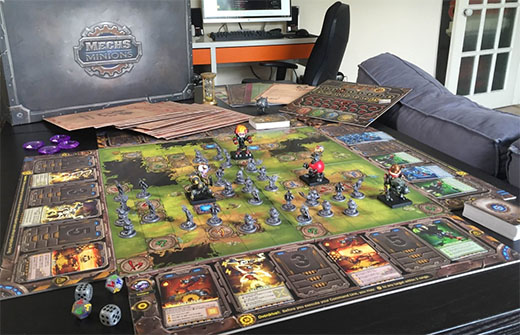 juego de mesa de League of Legends