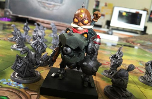 Miniatura del juego de mesa de League of Legends