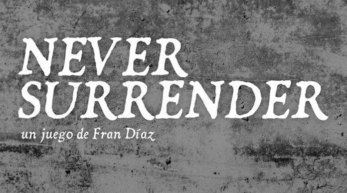 Logotipo de Never Surrender