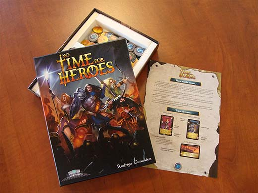 Componentes de No time for Heroes
