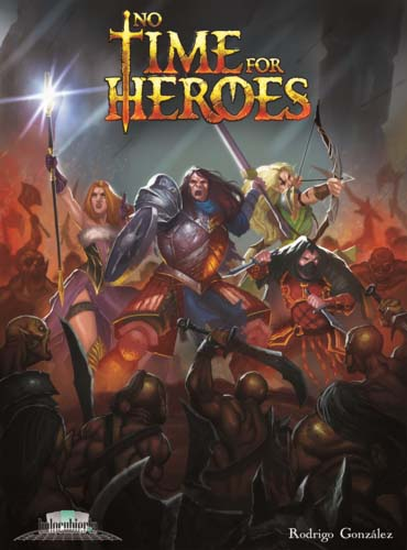 Portada de No time for heroes