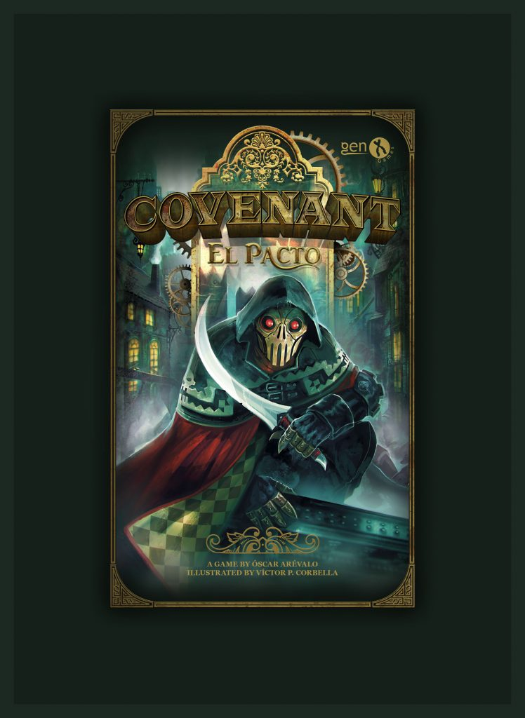 Caja del juego Covenant, El pacto