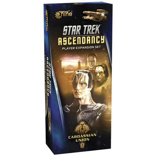 Portada de la expansión cardassian union de Star Trek Ascendancy