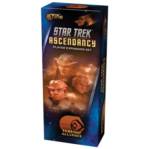 Portada de la expansion Ferengi Alliance de Star Trek Ascendancy