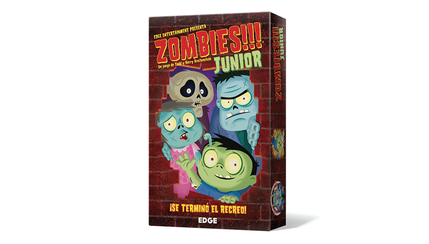 Portada de zombies junior