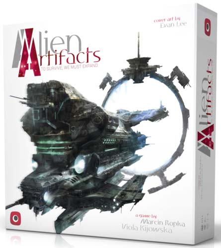 Alien Artifacts de Portal games
