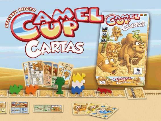 Camel up Cartas por ediciones masqueoca