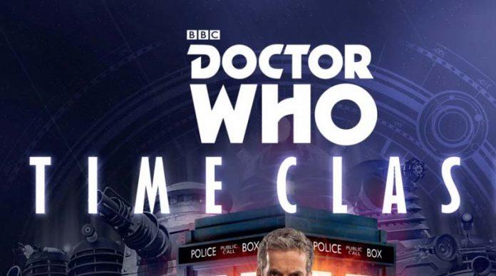 Logotipo de Doctor Who Time Clash