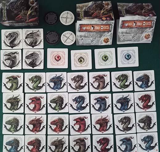 Componentes de Dragons