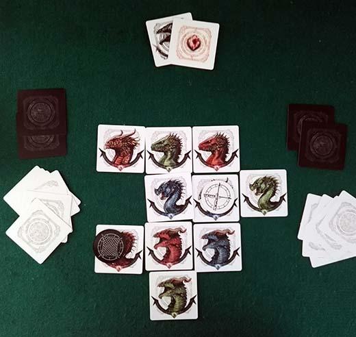 Dragons, partida en curso