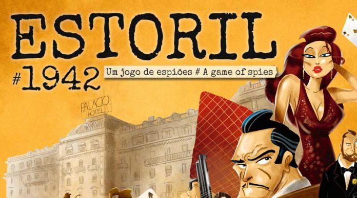 Detalle de la portada de estoril 1942