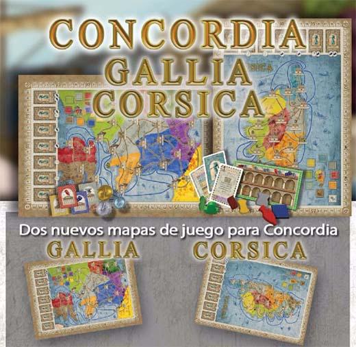 Mapas de Cosica y Gallica para concordia por ediciones masqueoca