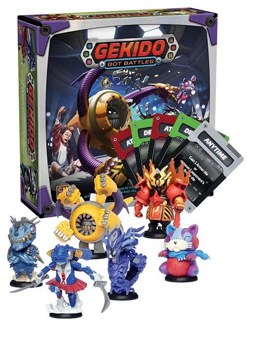 Componentes de Gekido Bot Battles
