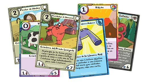 Cartas de Hora de Aventuras Card Wars