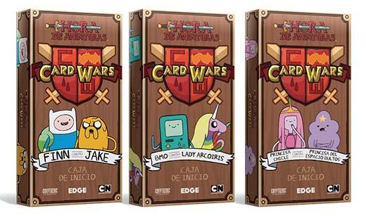 Mazos iniciales de Hora de Aventuras Card Wars